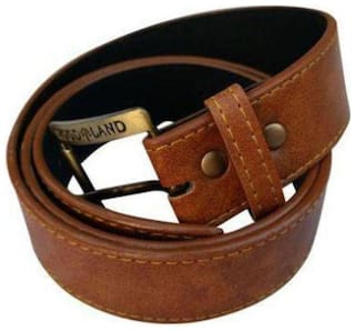 BlacKing Brown Faux Leather casual Belt