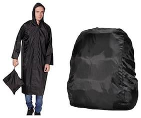Jim-Dandy Men Long Long coat - Black