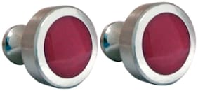 Blacksmith Dark Pink Cufflink