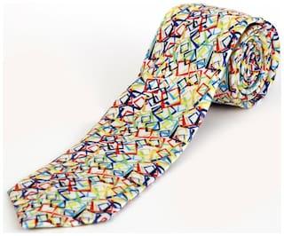Blacksmith Intertwining Rectangles Design Tie for Men