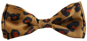 Blacksmith Leopard Brown Design Bowtie for Men