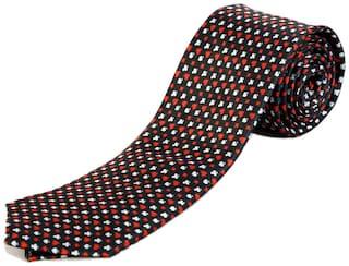 Blacksmith Poker Black Design Tie for Men