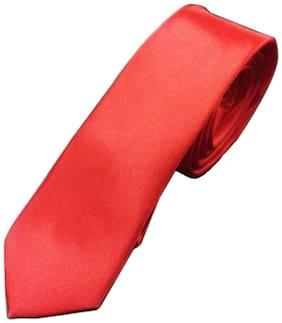 Blacksmith Ultimate Skinny Red Design Tie for Men