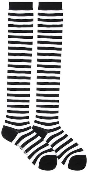 Bonjour Girls Design Knee High Socks