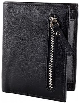 Borse Black Casual Short Wallet