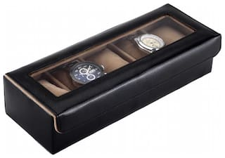 Borse Trendy Watch Case- 5 Compartment