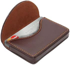 BORSE Lk245 Brown Card Holder