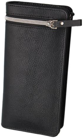 Borse Long Business Wallet LK223 - Black