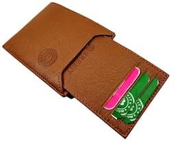 Brexit Men Brown Leather Bi-Fold Wallet ( Pack of 1 )