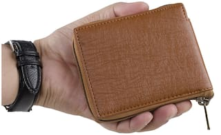 Brexit Tan Artificial Leather Wallets For  Men s and Boy s