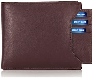 Brown Genuine Leather (pu) Wallet For Men, Separable card holder, Bi-Fold, Hand Made, Long Lasting Quality, (M-0012)