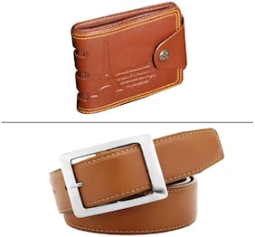 Buy Imperior Stylish Tan Color Belt And Get Designer Wallet Free