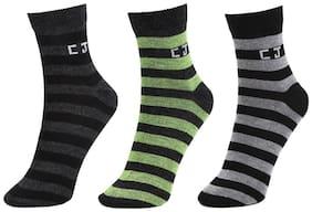 Calvin Jones Unisex Ankle Socks - Pack of 3