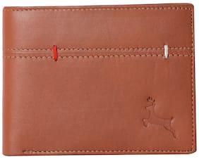 Calvin Jones Men's Tangerine - Genuine Leather Wallet
