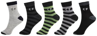 Calvin Jones Unisex Ankle Socks - 5 Pair Pack