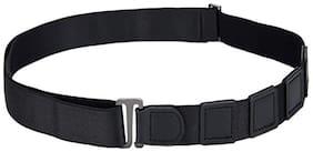 CARECROFT Unisex Polyester Belt - Black