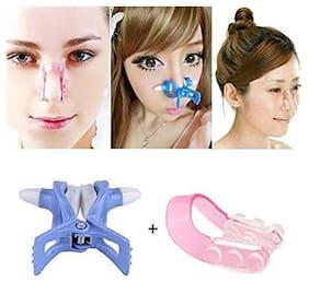 CASHWIN 2-pcs Nose Up Shaping Lifting + Bridge Straightening Beauty tool Clip Clipper