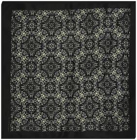 Chokore Silk Pocket Square - Black