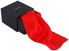 Chokore Silk Pocket Square - Red