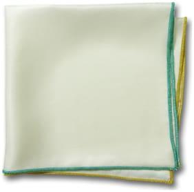Chokore Silk Pocket Square - White