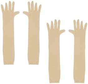 Cotson Men Cotton Glove - Yellow