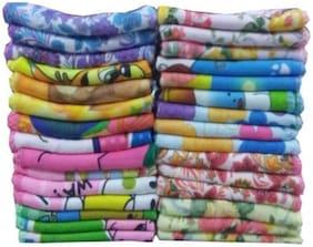 N G PRODUCTS Women Cotton Handkerchief - Multi ( Set of 12 )