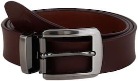 Craftwood Men Formal Brown Genuine Leather Belt