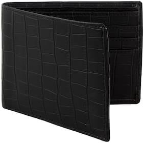 Creature Men Black Pu Bi-Fold Wallet ( Pack of 1 )