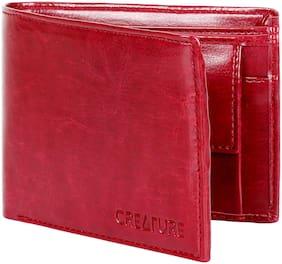 Creature Men Assorted Pu Bi-Fold Wallet ( Pack of 1 )