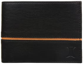 Creature Black Leather Men's Wallet