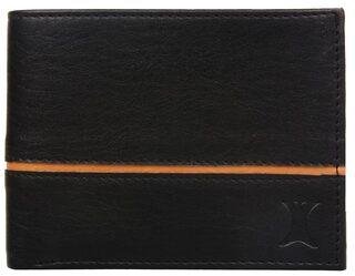 Creature Men Leather Bi-fold Wallet - Black