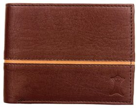 Creature Men Pu Bi-fold - Brown