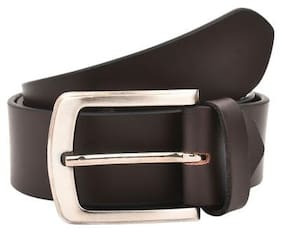 Creature Men's Genuine Leather Belt(Colour-Brown||BL-003)