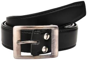 Creature Men's Leather Belts(Colour-Black||BL-004)
