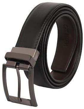 Creature Reversible Pu-Leather Black/Brown Casual/Formal Belt For Men