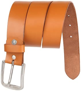 Creature Tan Leather Party Belts