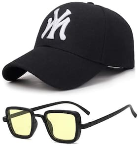 Davidson Combo of Cap and Kabir Singh Sunglasses