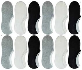 Day By Day Unisex Loafer Socks,Ankle Socks For Men and Women (12 Pairs)