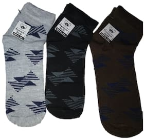 Designer Ankle Socks (Pack of 3)