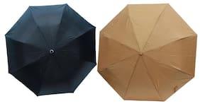 Dizionario Black & Golden 3 Fold Umbrella (Pack of 2)