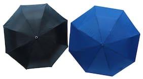 Dizionario Black & Navy Blue 3 Fold Umbrella (Pack of 2)