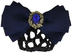 Dolly jewels Juda hair accessories Blue Bun Clip For Girl & Women
