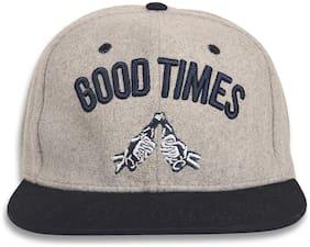 Women Acrylic Caps ( Grey )
