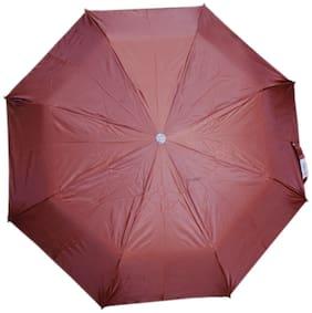 Duckback Rainy 3 Fold Everyday Use Umbrella (Maroon)