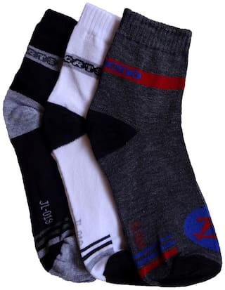 Elegant Ankle Length Sports Socks (Pack of 3)