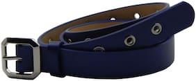 Els Women Leather Belt - Blue