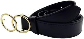 Els Women Synthetic Belt - Black