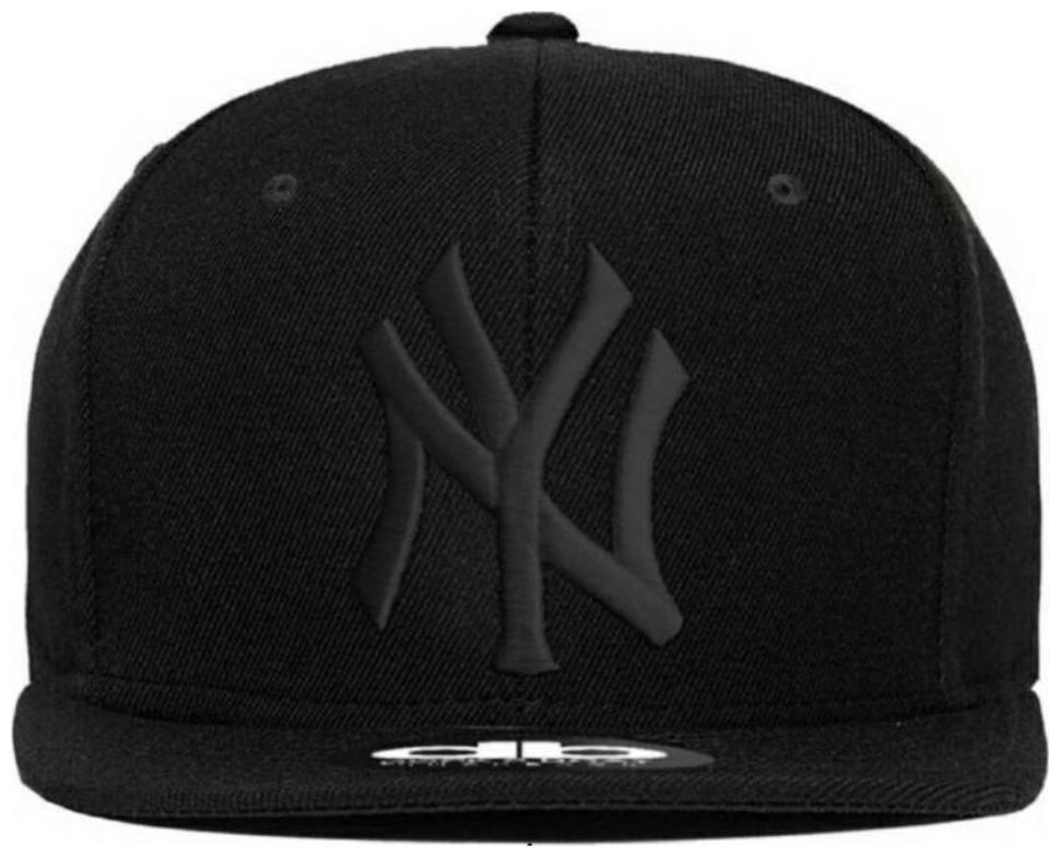 Embroidered Hip Hop Black Cool Cap