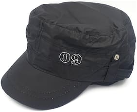 Epraiser Black Funky Model Classic Designer Looks Rainy/Monsoon Cap