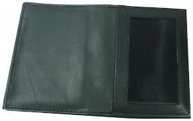 Essart Men Synthetic leather Card holder - Black